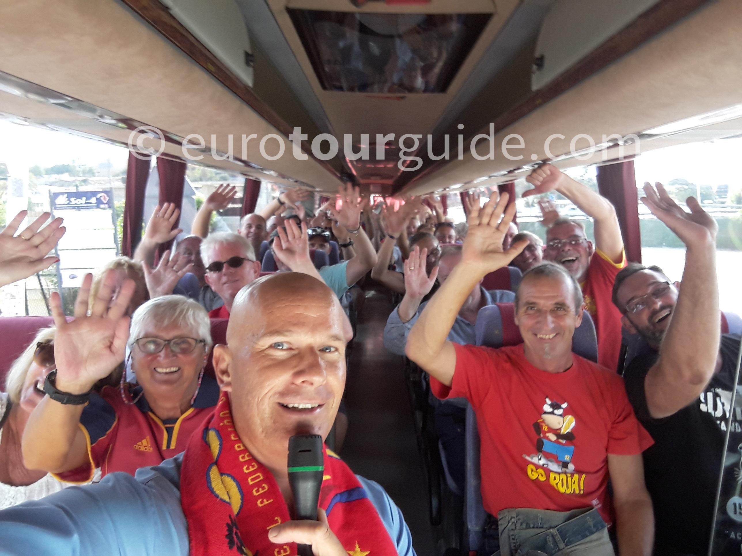 Coach Tours with www.euoroutguide.com