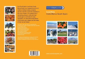 Local Area Costa Blanca South Spain Guide Book Front & Back Covers