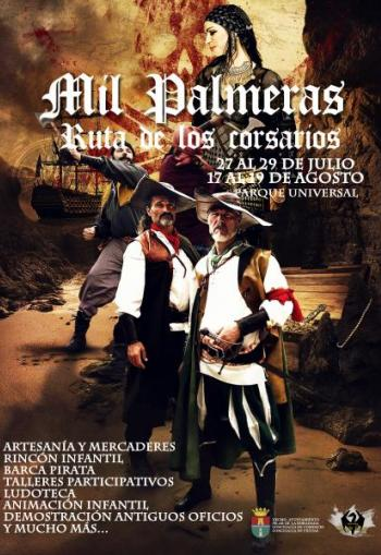 Mil Palmeras Pirates Market 27th-29th July & 17th-19th August 2018