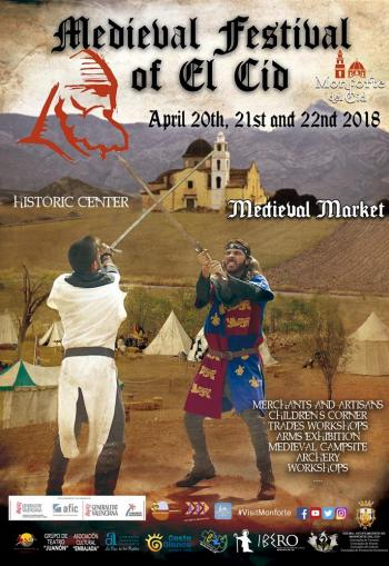 Monforte del Cid Medieval Market 20th-22nd April 2018