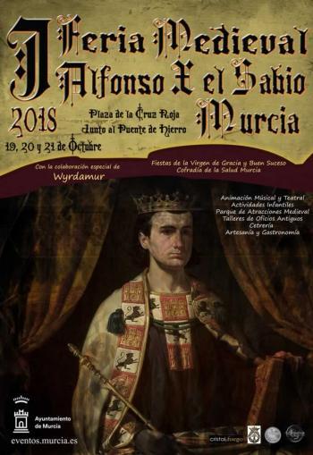 Murica Alfons X Sabio 19th-21st October 2018