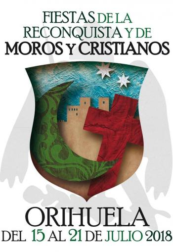 Orihuela Moors & Christians Fiesta Programme 15th-21st July 2018