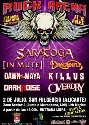 San Fulgencio Rock Arena 2nd July 2016