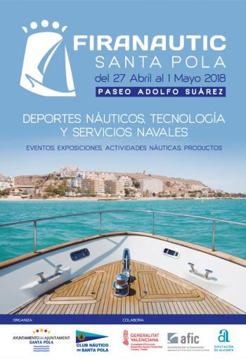 Santa Pola Boat Show 27th April - 1st May 2018
