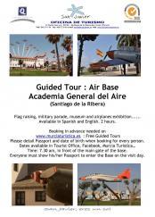 Santiago de la Ribera Air Base Visits 17th & 24th March 2017