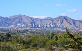 Mountains around Benejuzar Alicante Spain