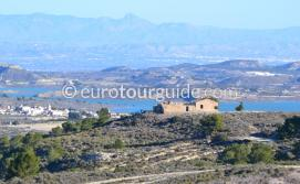 Where to go in and around the Costa Blanca Spain, the scenic drive from Torremendo Lake to the Rebate Restaurant is beautiful