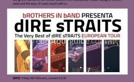EuroTourGuide Coach Tour Dire Straits Tribute Concert 9th February 2019