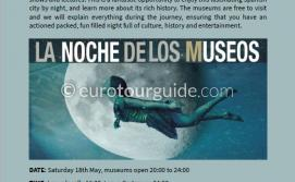 EuroTourGuide Coach Tour 18th May Cartagena Museum Night