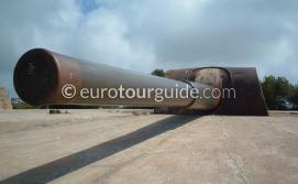 Cabo Tinoso Guns Murcia Spain one of many things to do and places to visit