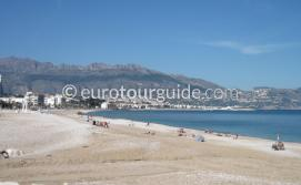What to do in L'Alfas del Pi and Albir, Walking along the beach is one of many places to visit and things to do