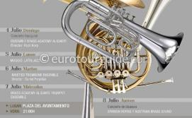 EuroTourGuide Alicante Brass Concerts 4th-8th July 2021