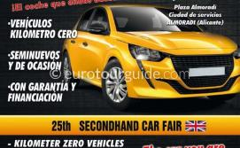 EuroTourGuide Almoradi Car Fair 23rd-24th October 2020