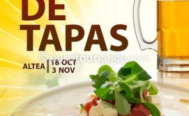 Altea Autumn Fruits Tapas Route 18th October - 3rd November 2019