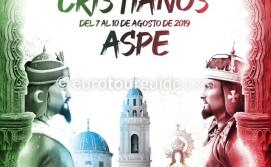 Aspe Moors and Christians Fiesta Virgen de las Nieves 7th-10th August 2019