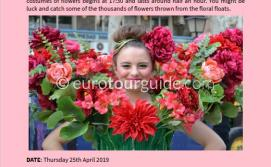 EuroTourGuide Coach Tour 25th April Murica Flower Parade