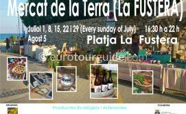 Benissa Ecological Artisan Market Mercat de la Terra Summer 2019
