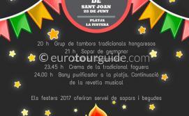 Benissa San Juan Fiesta Playa de la Fustera 23rd June 2018