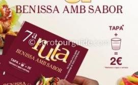 Benissa 7th Amb Sabor Tapas Route 3rd July to the 8th August 2015