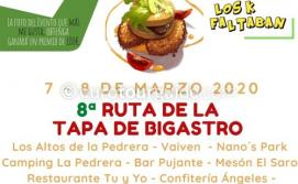 Bigastro 8th Ruta de la Tapa 7th & 8th March 2020