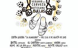 Bullas Summer Beer Festival 9th-11th August 2019