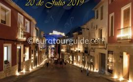 Busot Candle Light Night 20th July 2019