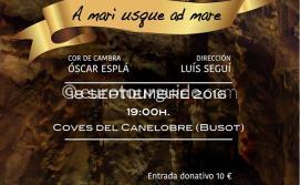 Busot  Coves del Canelobre Concert 18th September 2016