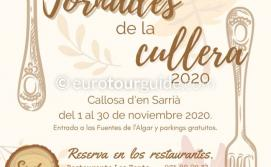 Callosa d'en Sarria 7th Cullera Menus 1st-30th November 2020