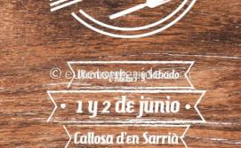 Callosa d'en Sarria Tapas Route 1st & 2nd June 2018