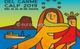 Calpe Virgen del Carmen 16th July 2019
