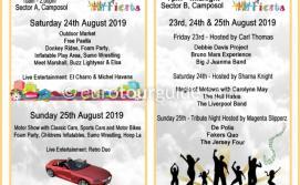 Camposol International Fiesta 23rd-26th August 2019