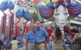 Coach Tours with www.euoroutguide.com Alicante Hogueras