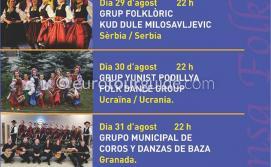 Denia XXVIII Mostra Internacional De Dansa Folklòrica International Festival of Folklore Dancing 2019