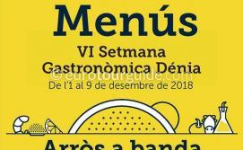 Denia Rice Gastronomy Arrós a Banda VI Semana Gastronomica 1st-9th December 2018
