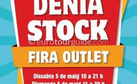 Denia Discount Shopping Stock Feria 5th & 6th May 2018