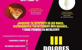 Dolores 11th Tapas & 3rd Cocktail Route 6th-8th September 2019