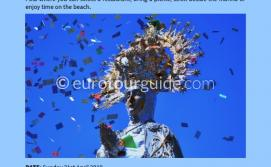 EuroTourGuide Coach Tour Easter Sunday Elche Hallelujah Parade 21st April 2019