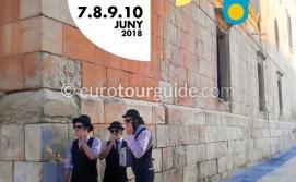 Elche Street Artists Festival Elx Artes de Calle 7th-10th June 2018