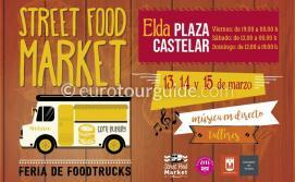 Elda Street Food Market 13th-15th March 2020