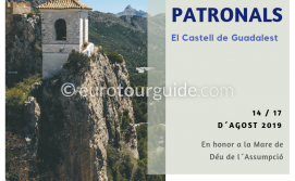 Guadalest Fiesta Virgen de la Asunción 14th-17th August 2019