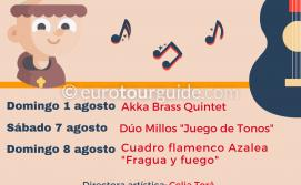 EuroTourGuide Hondon de los Frailes Summer Concerts August 2021