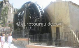 Where to go in the Ricote Valley Inland Murcia Spain, Visit the waterwheel in Abaran one of many interesting things to do and places of interest
