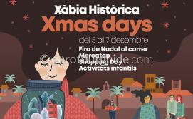 Javea Xmas Days 5th-7th December 2019