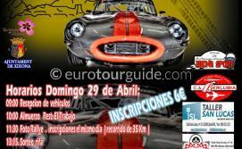 Jijona 6th Classic and Sports Car Exhibition 29th April 2018