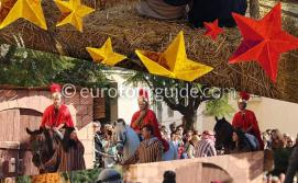 La Canalosa Living Nativity Belen Viviente 22nd December 2019