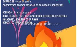 La Manga San Juan Hogueres 22nd & 23rd June 2019
