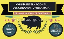 La Mata Day of the Pig Fiesta 22nd January 2017