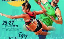 EuroTourGuide Coach Tours La Zenia Beach Handball 25-27/06/21