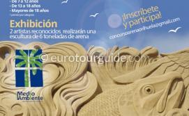 EuroTourGuide Coach Tours La Zenia Sand Sculpting Competition 15th August 2021