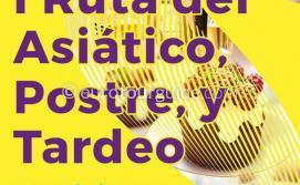 Los Alcazares Ruta Asiatico, Postre y Tardeo 1st-17th June 2018